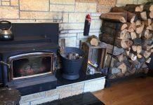 Rustic Firewood Holder